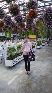 花鳥園の花のコーナーです