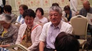 広報部長の杉本さんと広報の竹内さんが参加しています